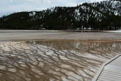 Kaskada alga tarasy Zdjęcie Stock