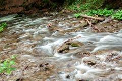 Kaskada halna rzeka Obraz Royalty Free