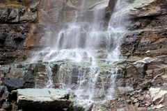 Kaskada Spada Ouray, CO obrazy royalty free