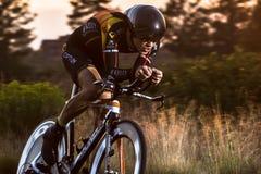 Kaskade 2014, die klassisches Straßenrennen radfährt Lizenzfreie Stockfotografie
