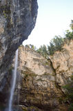 Kaskade von Fondo in Alto Adige Stockbilder