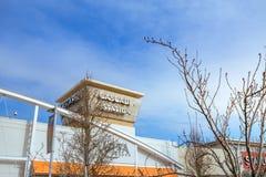 Kaskaden-Stations-Einkaufszentrum am regnerischen Tag es ist in N Lizenzfreie Stockbilder