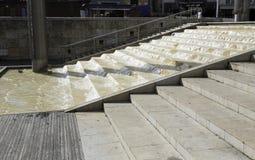 Kaskadenschritte, Bristol-Hafen, England Stockfotografie