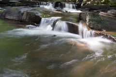 Kaskadenwasserfälle Stockfoto