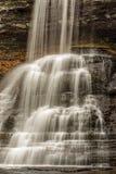 Kaskadnedgångarna Giles County, Virginia, USA Arkivfoton