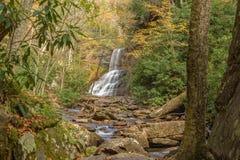 Kaskadnedgångarna Giles County, Virginia, USA Royaltyfria Bilder