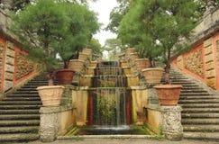 kaskadowa fontanna Zdjęcia Stock