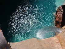 Kaskadowa raj dolina Agadir Morocco Obraz Royalty Free