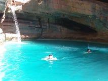 Kaskadowa raj dolina Agadir Morocco 3 Zdjęcia Stock