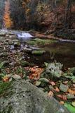 Kaskadowa rzeka Obraz Royalty Free