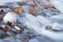 kaskadowa zima Fotografia Stock