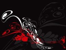 kaskadowy czerwony kwiecisty, ale Fotografia Royalty Free