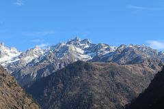 Kasol, Himachal Pradesh fotografia stock libera da diritti