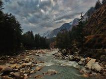 Kasol 1, valle del parvati Fotos de archivo