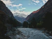 Kasol 2, valle del parvati Imagenes de archivo
