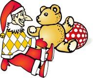 kaspar teddy stock illustrationer
