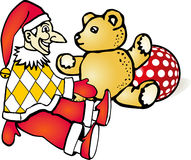 Kaspar Teddy Stock Illustratie