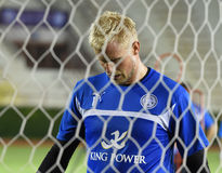 Kasper Schmeichel of Leicester City Stock Photography