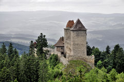 Kasperk城堡 库存照片