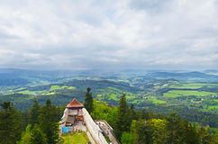 Kasperk castle in Sumava mountains, Czech Republic Royalty Free Stock Photography