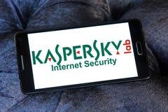 Kaspersky Lab firmy logo fotografia stock
