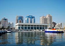 Kaspische Ansicht lizenzfreies stockbild