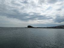 Kaspisches Meer lizenzfreies stockbild