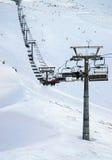 kasprowy山区度假村滑雪 图库摄影