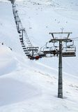 Kasprowy Mountain ski resort Stock Photography