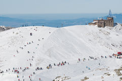 Kasprowy Mountain ski resort Stock Photo
