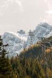 Kasprowy peak in Polish Tatra Mountains Stock Image