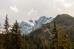 Kasprowy peak in Polish Tatra Mountains Royalty Free Stock Photos