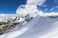 Kasprowy top - Ski resort Zakopane Stock Photography