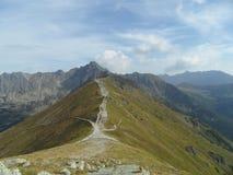 Kasprowy Wierch,高Tatras 免版税库存照片