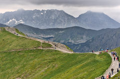 Kasprowy wierch, High Tatras in Poland Royalty Free Stock Photography