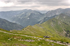 Kasprowy wierch, High Tatras in Poland Royalty Free Stock Images