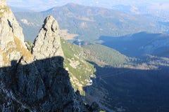 Kasprowy wierch in Tatra-bergen, Polen Royalty-vrije Stock Fotografie