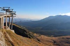 Kasprowy wierch in Tatra-bergen, Polen Stock Foto's