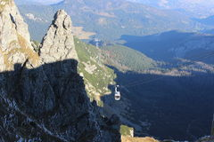 Kasprowy wierch in Tatra mountains, Poland Royalty Free Stock Images