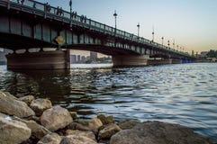 kasr γέφυρα EL Νείλος στοκ εικόνες
