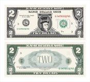 Kassa dollar royaltyfri illustrationer