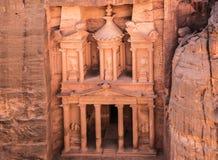 Kassan i Petra Arkivfoton