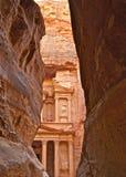 Kassan Petra Kingdom av Jordanien Arkivfoton