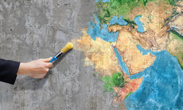 Kassaskåp vår planet Royaltyfri Fotografi