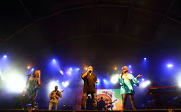 Kassav, Caribbean band Royalty Free Stock Photo