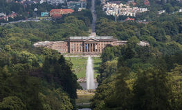 Kassel and the bergpark wilhelmshöhe germany Royalty Free Stock Photo