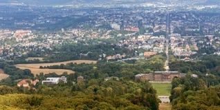 Kassel and the bergpark wilhelmshöhe germany Stock Image
