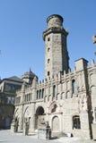 Kassel, kasztel - Lowenburg lub lwa Obraz Royalty Free