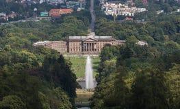 Kassel und das bergpark wilhelmshöhe Deutschland Lizenzfreies Stockfoto