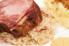 Kasseler pork chop Stock Photo